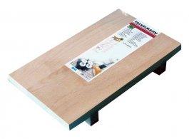 Deska zdrewna bukowego do sushi, wym. 34x20,5x5 cm