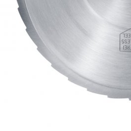 Nóż ząbkowany ze stali nierdzewnej do krajalnic serii VIVO, średnica 170 mm, GRAEF 145360