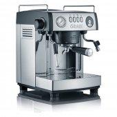 Ekspres do kawy, elektryczny, ciśnieniowy, nierdzewny, 2515 W, czarny, GRAEF BARONESSA ES 902
