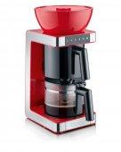 Ekspres przelewowy do kawy, zaparzacz elektryczny, 1200W, czerwony, GRAEF FK 703