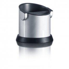 Odbijak do kolby ekspresów ciśnieniowych, pojemnik na pulpę na sitko, srebrny, GRAEF 145612