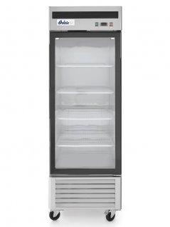 Szafa chłodnicza KITCHEN LINE, chłodziarka przeszklona, 1-drzwiowa, poj. 610 l, HENDI 233160