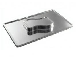 Taca do serwowania, prostokątna, dwupoziomowa, wym. 525x320x40 mm, HENDI 436172