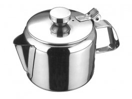 Dzbanek zpokrywką do herbaty, ze stali nierdzewnej, poj. 350 ml, HENDI 454008