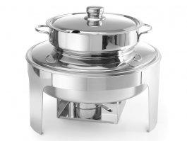 Podgrzewacz na pastę do zupy PROFI LINE, wysokopolerowany, nierdzewny, poj. 10 l, HENDI 470244