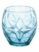 Szklanka niska COOL BLUE ORIENTE, poj. 400 ml, opakowanie 6 sztuk, HENDI 775684
