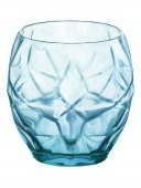 Szklanka niska COOL BLUE ORIENTE, poj. 500 ml, opakowanie 6 sztuk, HENDI 775691
