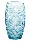 Szklanka wysoka COOL BLUE ORIENTE, poj. 470 ml, opakowanie 6 sztuk, HENDI 775707