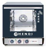 Piec multifunkcyjny HENDI NANO – elektryczny, sterowanie manualne, poj. 4x 450x340 mm