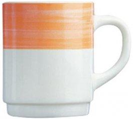 Kubek BRUSH, poj. 250 ml, pomarańczowy, 54719