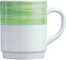 Kubek BRUSH, poj. 250 ml, zielony, 54734