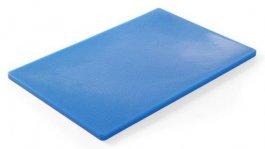 Deska do krojenia HACCP 450x300mm, niebieska 825532