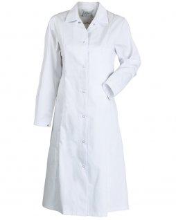 Fartuch HACCP, zapinany na napy, damski, rozmiar 50, biały, KEGEL-BŁAŻUSIAK 4088-231-1080