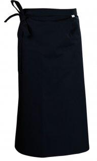 Zapaska długa, gastronomiczna, kelnerska, długość 90cm, czarna, KEGEL-BŁAŻUSIAK 4257-010-4010