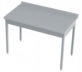 Stół zwysuniętym blatem pod zmywarkę, rant ztyłu, wym. 1740x600x850 mm
