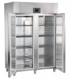Szafa chłodnicza GKPv 1470, 2-drzwiowa, sterowanie elektroniczne, stal szlachetna, poj. 1361 l
