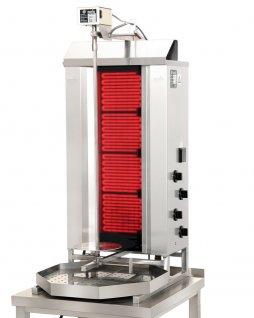 Gyros elektryczny, opiekacz pionowy do 50 kg, kebab, grill, 7,6 kW, nierdzewny, POTIS CE4