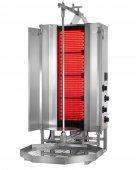 Gyros elektryczny, opiekacz pionowy do 50 kg, kebab, grill, 7,6 kW, nierdzewny, POTIS MU CE4