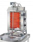Gyros elektryczny, grill, kebab, opiekacz pionowy do 15 kg, 3,9/ 4,5 kW, nierdzewny, POTIS E1