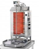 Gyros elektryczny, grill, kebab, opiekacz pionowy do 30 kg, 5,2/ 6,0 kW, nierdzewny, POTIS E2