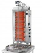 Gyros elektryczny, grill, kebab, opiekacz pionowy do 50 kg, 7,8/ 9,0 kW, nierdzewny, POTIS E3