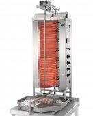 Gyros elektryczny, grill, kebab, opiekacz pionowy do 80 kg, 10,5 kW, nierdzewny, POTIS E4