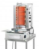 Gyros elektryczny, grill, kebab, opiekacz pionowy do 30 kg, 5,2/ 6,0 kW, nierdzewny, POTIS F E2