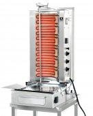 Gyros elektryczny, grill, kebab, opiekacz pionowy do 50 kg, 7,8/ 9,0 kW, nierdzewny, POTIS F E3