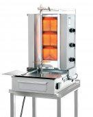 Gyros gazowy, opiekacz pionowy do 40 kg, kebab, grill, 8,4/ 10,5 kW, nierdzewny, POTIS F GD3