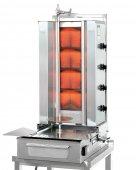 Gyros gazowy, opiekacz pionowy do 70 kg, kebab, grill, 14/ 11,2 kW, nierdzewny, POTIS F GD4