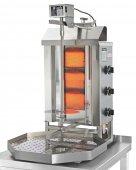 Opiekacz pionowy do 15 kg, gyros, kebab, grill gazowy, 5,25 kW, nierdzewny, POTIS G1