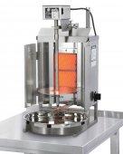 Opiekacz pionowy do 7kg, gyros gazowy, kebab, grill, 3,5 kW, nierdzewny, POTIS GD1
