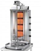 Opiekacz pionowy do 70 kg, gyros gazowy, kebab, grill, 14,0 kW, nierdzewny, POTIS GD4