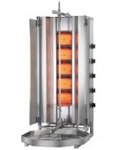 Opiekacz pionowy do 50 kg, gyros, kebab, grill gazowy, 8,75 kW, nierdzewny, POTIS MU G3