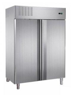 Szafa chłodnicza, nierdzewna, monoblokowa, 2-drzwiowa, używana, poj. 1350 l