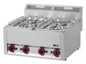 Kuchnia gazowa 4-palnikowa SPL-66 G (13,2 kW)