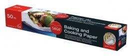 Papier do gotowania SAGA 38cm, rolka 12m