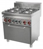 Kuchnia gazowa i kombinowana CFE4-8 G