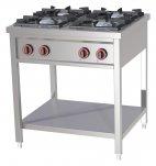 Kuchnia gazowa 4-palnikowa SPB-70/80G, 25kW