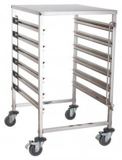 Wózek na pojemniki GN - pełny blat TRL-6 GN B