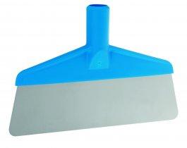 Skrobaczka elastyczna do stołów ipodłóg, niebieska, szerokość 260 mm, VIKAN 29113