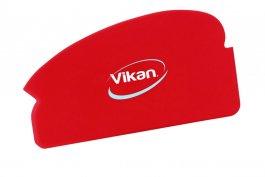 Elastyczny zgarniacz ręczny, strychówka, skrobaczka, długość 165 mm, czerwona, VIKAN 40514
