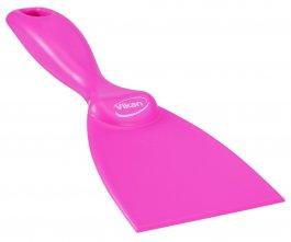 Skrobaczka ręczna zpolipropylenu, szerokość ostrza 75 mm, różowa, VIKAN 40601