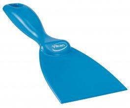 Skrobaczka ręczna zpolipropylenu, szerokość ostrza 75 mm, niebieska, VIKAN 40603