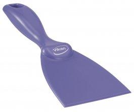 Skrobaczka ręczna zpolipropylenu, szerokość ostrza 75 mm, fioletowa, VIKAN 40608