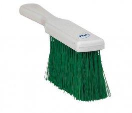 Zmiotka ręczna zuchwytem, szczotka, miękka, długość 250 mm, zielona, VIKAN 45582