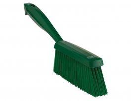 Zmiotka ręczna zuchwytem, średnia, długość 330 mm, zielona, VIKAN 45892