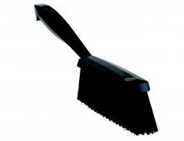 Zmiotka ręczna zuchwytem, średnia, długość 330 mm, czarna, VIKAN 45899