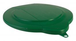 Pokrywa zpolipropylenu do 6-litrowego wiadra 56882, szczelna, zielona, VIKAN 56892