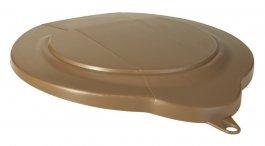 Pokrywa zpolipropylenu do 6-litrowego wiadra 568866, szczelna, brązowa, VIKAN 568966